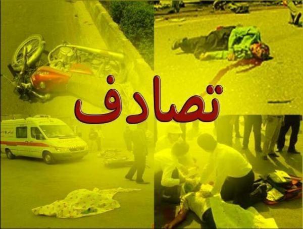 5 مصدوم در سانحه رانندگی در آزاد راه تبریز-سهند