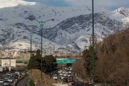 کیفیت هوای تهران امروز در محدوده قابل قبول است