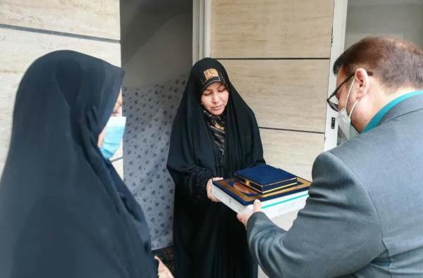 خبرنگاران تجلیل وزیر میراث فرهنگی از شهدای مدافع حرم ورامین