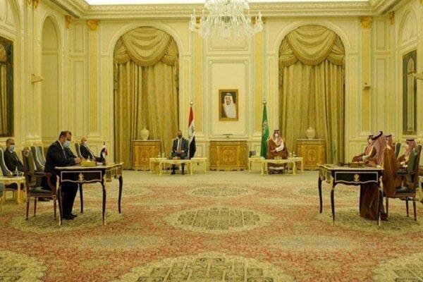 امضای 5 توافق نامه مشترک میان بغداد و ریاض