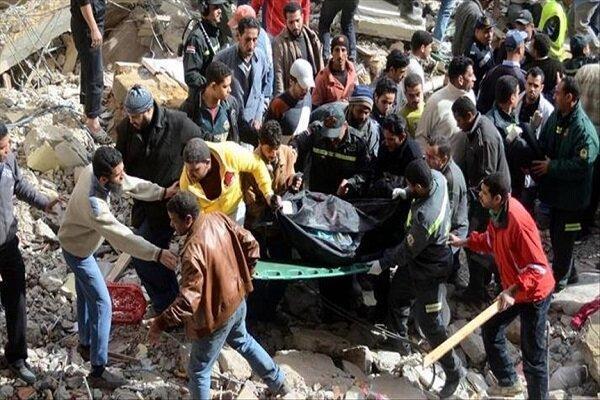 افزایش شمار جانباختگان ریزش ساختمان در مصر به 18 نفر