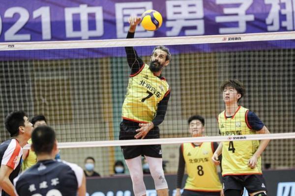 سعید معروف و یارانش بدون شکست در مرحله گروهی لیگ والیبال چین
