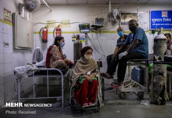 کرونا در هند 2887 قربانی گرفت، 134 هزار و 154 مورد جدید ابتلا