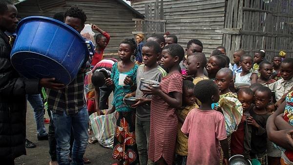 فوران آتشفشان در کنگو و جدایی بسیاری از فرزندان از والدین