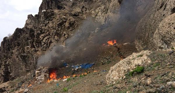 کشته شدن 8 تَن از عناصر پ ک ک در شمال عراق