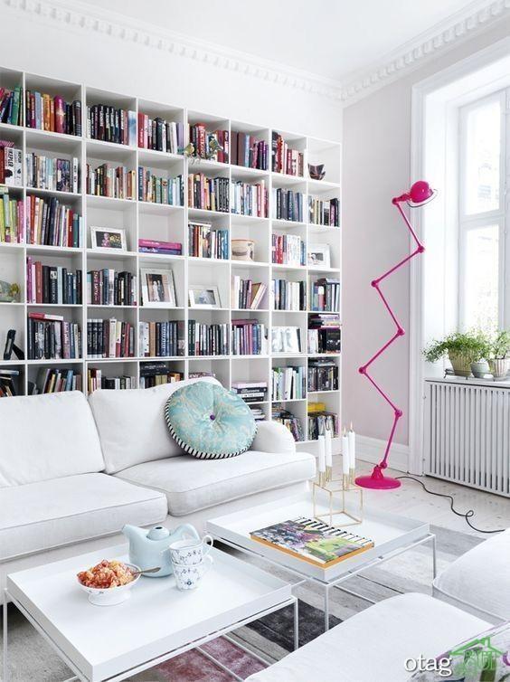 36 مدل قفسه کتاب بسیار زیبا و شیک [در سال نو]