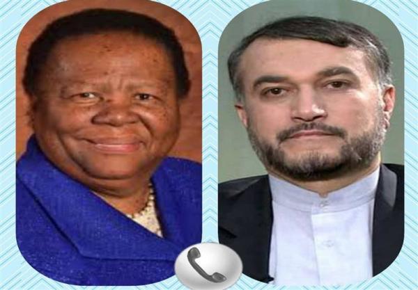 تور افریقای جنوبی: تأکید وزرای خارجه ایران و آفریقای جنوبی بر توسعه مناسبات دو کشور